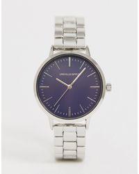 ASOS - Серебристые Часы-браслет - Lyst