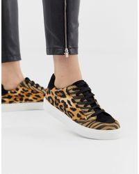 ASOS Dove Lace Up Sneakers - Multicolor