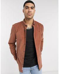 River Island Cord Shirt - Brown