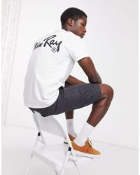 Stan Ray OG - T-shirt à imprimé dans le dos - Blanc