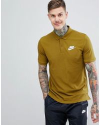 Nike - Matchup Polo Shirt In Green 909746-399 - Lyst