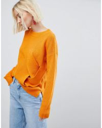 River Island   Cross Over Sweater   Lyst