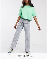 Collusion - X005 Straight Leg Jeans - Lyst