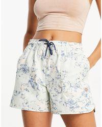 Dickies Sunburg Tie-dye Shorts - Blue