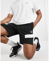 PUMA Mcs Logo Shorts - White