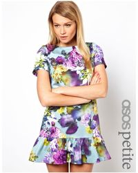 ASOS Minivestido - Multicolor
