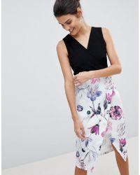 Closet - Closet 2 In 1 Pencil Dress - Lyst