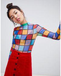 Lazy Oaf Dance All Night Top - Multicolour