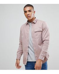 Jack & Jones | Originals Overshirt In Regular Fit With Distress Detail | Lyst