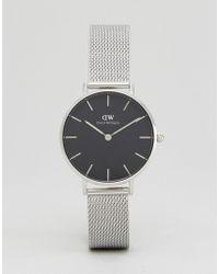 Daniel Wellington - Dw00100163 Mesh Watch In Silver - Lyst