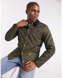 Barbour Стеганая Куртка Оливкового Цвета Starling-зеленый Цвет - Многоцветный