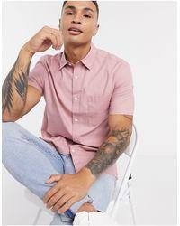 TOPMAN - Розовая Рубашка -розовый - Lyst