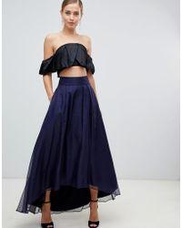 Coast - Iridessa High Low Chiffon Skirt - Lyst