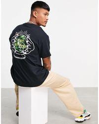 """New Love Club – T-Shirt mit """"Happens""""-Logo - Schwarz"""