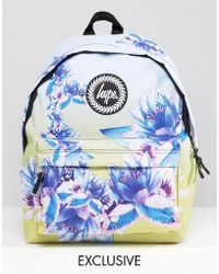 Hype Exclusive All Over Floral Backpack - Multicolor