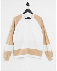 ASOS Camiseta extragrande - Blanco