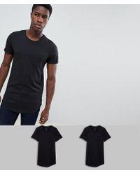 Produkt - 2 Pack Longline T-shirt - Lyst