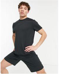 New Look Черная Футболка Sport-черный Цвет