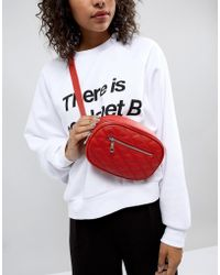 New Look - Quilted Bumbag - Lyst