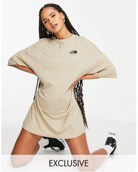 The North Face Jersey T-shirt Dress - Natural