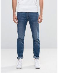 Lee Jeans - Jeans Arvin Stretch Slim Tapered Fit Blue Legacy Mid Wash - Lyst