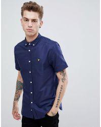 Lyle & Scott - Short Sleeve Oxford Shirt - Lyst