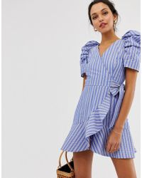 C/meo Collective Motivations Dress - Blue