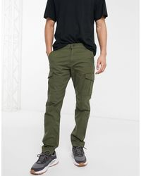 Jack & Jones Intelligence - Slim-fit Cargobroek - Groen