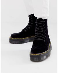 Dr. Martens Jadon Platform Boots - Black