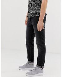 Jack & Jones Intelligence Tim Slim Fit Taper Jeans - Black