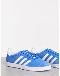 adidas Originals Gazelle - Sneakers - Blauw