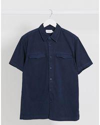 TOPMAN Camicia - Blu