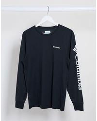 Columbia North Cascades Long Sleeve T-shirt - Black