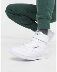 Reebok Ex-o-fit Hi Top Sneakers - White