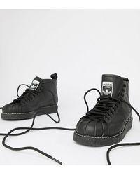 adidas Originals Superstar Boot Luxe Trainers - Black