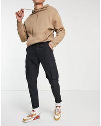 New Look Брюки Карго Черного Цвета Из Рипстопа -черный Цвет - Многоцветный