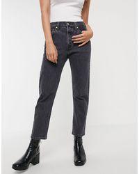 Levi's – 501 – Kurze Jeans - Schwarz
