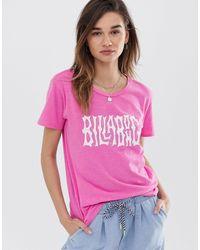 Billabong I'm A Rebel T-shirt - Pink