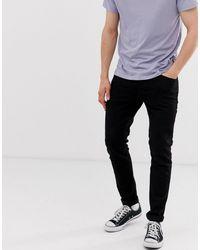 Jack & Jones Intelligence - Pantalon slim coupe ajustée - Noir