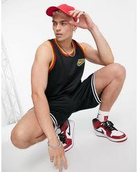 Nike Basketball Freak Mesh Jersey Singlet - Black