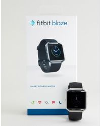 Fitbit Blaze Smart Watch In Black
