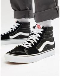 Vans Sk8-hi Reissue 6 Sneakers - Zwart
