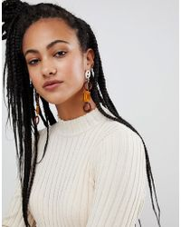 Gogo Philip - Resin Mix Statement Earrings - Lyst