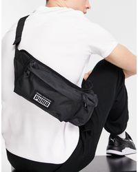 PUMA - Черная Сумка-кошелек На Пояс С Логотипом Mirage-черный Цвет - Lyst