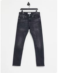 Calvin Klein Skinny Fit Jeans - Black