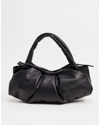 & Other Stories Leather Bag - Black