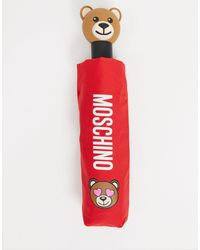 Moschino Regenschirm - Rot