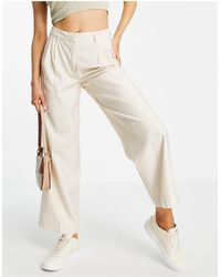 Y.A.S Tailored Trouser Co-ord - White