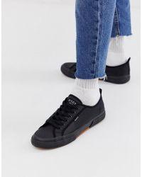 Nicce London Zapatillas negras con suela moldeada affleck - Negro