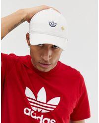 133796b0e adidas Originals X Pharrell Williams Cap In Camo Cy7711 in Green for ...